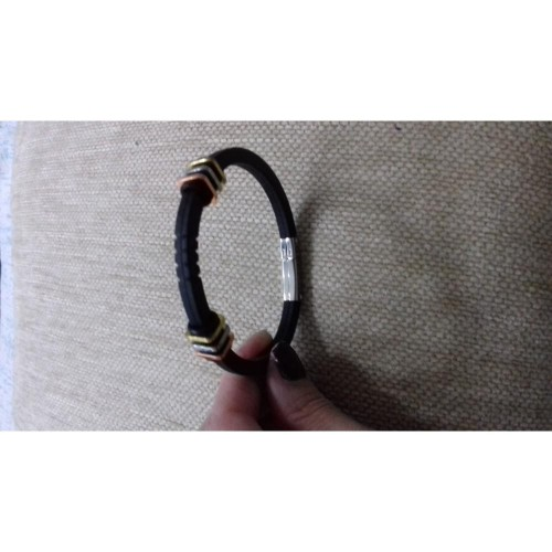 Bracelet rubber black