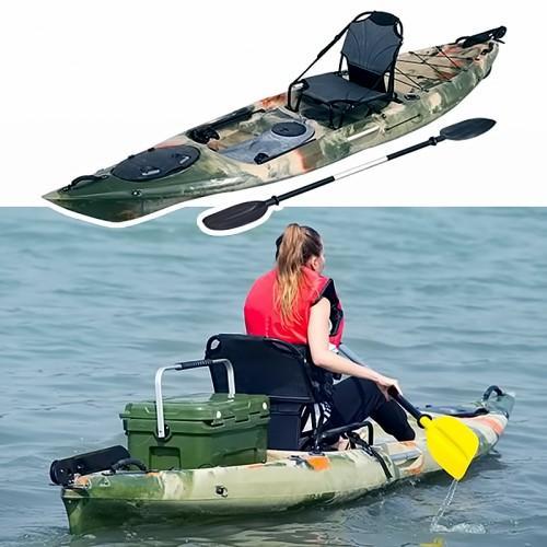 d6bb6276ce96 Καγιάκ ψαρέματος μονοθέσιο με πηδάλιο - fishing kayak